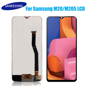For Samsung Galaxy M20 M205 M205F SM-M205F DS LCD Display with Touch Screen Digitizer Assembly free shipping