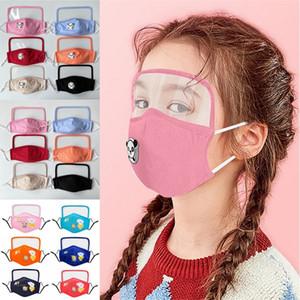 Çocuklar Pamuk Yüz Maskesi PM2.5 Koruyucu Yüz Maske Çocuk Anti-toz Koruyucu Yüz Maskeleri Yıkanabilir Bez Maskeler