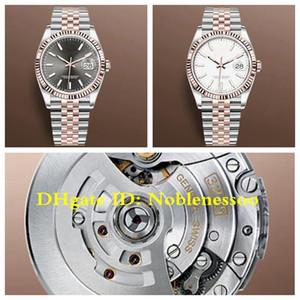 11color New Style CAL.3235 Movimento Unisex Mens Rose Gold 126231 Datejust 36MM Jubileu pulseira relógio V3 904L Aço GM homens fábrica de relógios