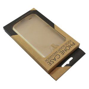 Petail 50pcs / lot Boutique Mobile Phone Package Sackage Storage Kraft Paper Printed Box For 7 6s Galaxy S7 s6 Note3 lite
