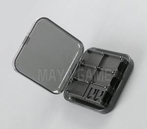 24 en 1 Effacer Noir Pour NS Carte De Jeu Cas Boîte De Rangement Commutateur Jeu Mémoire Titulaire De La Carte SD Carry Cartridge Box