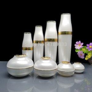 8pcs lot 5 10 30 50g Empty Jar Bottle For Cosmetic Face cream Eye Cream 30 50 80 120ml pressure lotion bottle