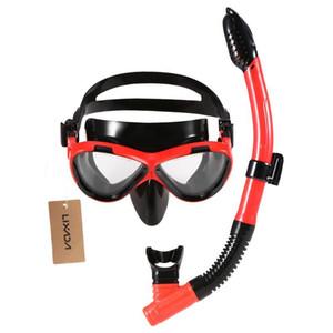Lixada маска для дайвинга взрослых детей плавания Маски МОРСКОЙ Googles Скубадайвинг Face Водных виды спорт Новых