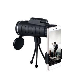 Bijia 40 * 60 Binocular Hunting Birdwatching Vida telescópio impermeável profissionais BaK4 binóculos de prisma com Carry Strap Neck Bag