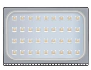 ABD led Flood Lambalar Sensör 200W Su geçirmez IP65 Açık Işık 110-120V Beyaz Led Projektör lambası Ev Bahçe Alt Dış Balkon Lampz Soğuk
