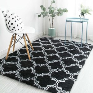Nordic Living room plush carpet bedroom thickened carpet tatami mat home floor mat summer new thick balcony table rug