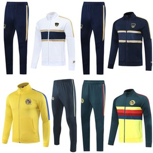 2020 Клуб Америка футбол куртка O.PERALTA Tracksuit 20 21 Survetement chandal 2020 Cougar НАУ футбольные тренировочные костюмы спортивная одежда