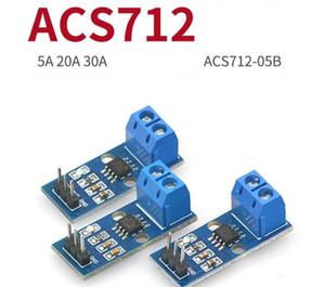 Placa de alta qualidade ACS712 Power Module 5A 20A 30A Detecção atual ACS712-05b Salão Sensor atual Testado Board