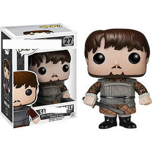 Game of Thrones Funko POP Samwell Tarly 27 Vinyl Figure with Box Sam POP 1pcs action figures toy for childrens xmas gift