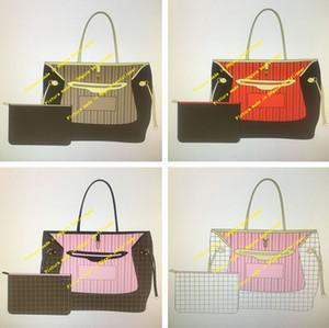 Tote clássico Naverfull Saco com Clutch Wallet Compra da bolsa Flor bolsas de Viagem Mulheres Moda Ombro Messenger Bags 40990 40995 GM MM