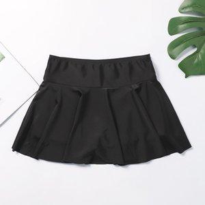 Bikini Bottoms With Skirt Shorts Women's Swimwear Bottom Summer Sexy Crochet Swimsuit Beach Thong Underwear Swim Suit 2020 20Feb