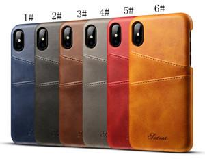 50 шт. / лот новое приложение ipXSMax мобильный телефон случае ip 7plus кожаный чехол Maverick pattern note9 карты защитный чехол