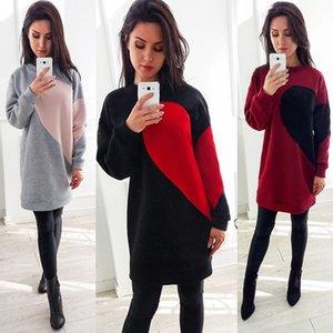 Hirigin Lunga Durata donne di stile con cappuccio Felpe manica lunga autunno / inverno incappucciato Outwear Hit Stile più nuovi