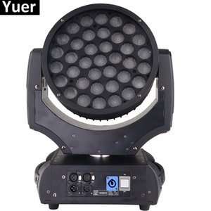 YENİ Yakınlaştırma Yıkama Başkanı Işıklar Profesyonel Led parti çubuğu DJ disko Sahne Işık Moving Head Işıklar 37X15W RGBW 4IN1 LED Moving