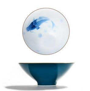 Pequeno requintado Jingdezhen Yonglihui 80 ml esmalte cerâmico colorido teacup porcelana pintados à mão chá KungFu Cup Masters a