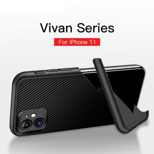 Telefone iPhone Para o Caso 11 Pro Max XS XR 8 7 Carbon Fiber Texture Levante TPU Capa para Samsung A51 A71 A81