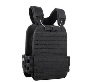 Outdoor Training Tactic VestAdjustable Combat Vest Molle Plate Carrierr Vest CS Protective Vest Gear