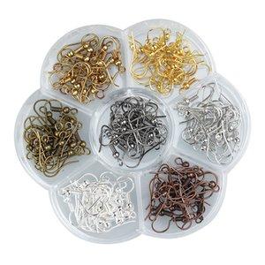 140 unidades / lote Brinco ganchos Descobertas jóias atacado acessórios Apreciação ganchos brinco peças de jóias Componentes para brincos