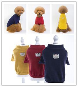 Pet Dog Classic Strickwaren Pullover Fleece Coat Weiche verdickende Welpen Hunde Shirt
