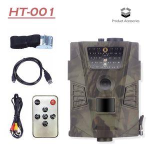 HT001 방수 트레일 사냥 카메라 기본 야생 사냥꾼 캠 HT001 야생 동물 게임 숲 카메라 동물 트랩