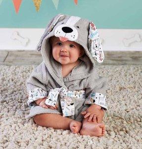 30 Designs Hooded Animal model ing Baby Bathrobe Cartoon Baby Spa Towel Character kids bath robe infant beach towels