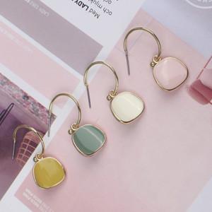 Simple Geometric Dangle Earrings for Women Girls Fashion Drop Earrings Bohemian Pendant Metal Earrings Lady Party Dating Jewelry Gift