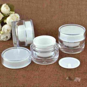 5 10 20 30 50 G ML Empty Clear Upscale Refillable Acrylic Makeup Cosmetic Face Cream Lotion Jar Pot Bottle Container