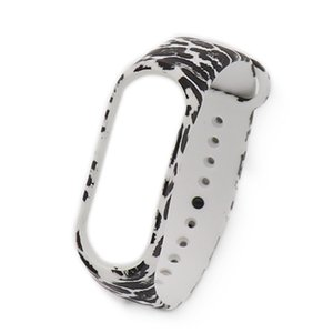 Printed Replacement Wristband For M3 Wrist Strap Bracelet Secure Faster Smart Accessories For Mi Band 3 Bracelet Replacement New
