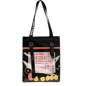 Pop2019 Canvas Transparent Women's Singles Shoulder Will Capacity Bag Woman Popular Student Support Special Package