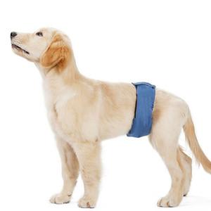 1pc männlicher Hund Baumwolle Physiologische Hosen Sanitary Unterwäsche Bauchband Windel für Haustier-Shorts Produkte Zubehör Neu