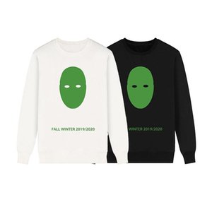 19FW Luxury Mens Designer Hoodies High Quality Mens Designer Sweatshirts Men Women Printed Fashion Oversize Long Sleeves Sweater