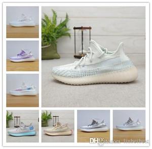2019 Yeni Kanye West Hiperuzay Kil Statik Koşu Ayakkabı Erkekler Kadınlar Krem Sarı Mor Beyaz Beluga 2.0 Sport Sneakers 5-11