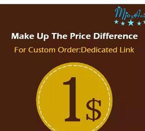 Make up the Price Difference envio de link dedicado Make up patchs sock a diferença Mjoyhair Um link dedicado