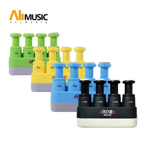 Aroma AHF-03 Portable Guitar Bass Piano Hand and Finger Exerciser Medium Tension Hand Grip Trainer 4 Colors