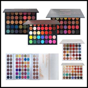 Makyaj Göz Farı Muhteşem Me Tepsi 63 Renkler Makyaj Paleti Glitter Göz Farı Popüler Kahverengi ve Dünya Renk Güzellik Sırlı