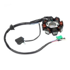 DC зажигания Статор соленоид генератор 8 полюс GY6 150cc 125cc самокат ATV генератор подходит для большинства GY6 150 мотоциклов