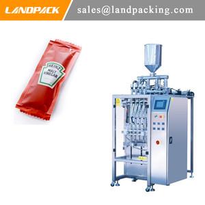 Machine d'emballage haute vitesse automatique VFFS Ketchup Prix multi Lane Sachet Machine de remplissage de sachet