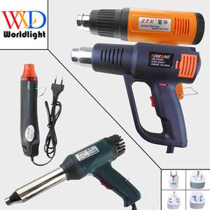 220V 300W 700W 1500W 2000W Heat Gun Industrial Electric Hot Air Gun Kit Профессиональный Тепловые пушки Shrink Wrap Вентилятор отопителя