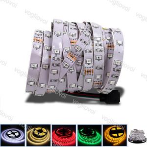 Luci nastro luce di striscia SMD2835 DC12V 300LED Round 2 fili LED flessibile per Tenda TV Auto Computer illuminazione DHL