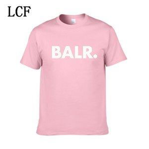 2020 Nuovo Balr progettista magliette Hip Hop camicie da uomo Designer T marchio di moda delle donne degli uomini manica corta Large Size XS-XXL EL-12