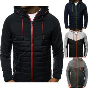 Erkek Windproof Spor Su geçirmez Ceket Yağmurluk Kış Kalın Sıcak Fleece Kapşonlu Coat Eşofman Giyim