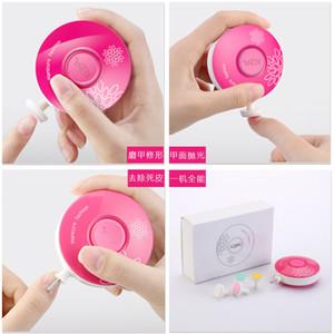 Baby Mini Electric Nail Drill Machine Newborn Safety Care Accessory Adult Manicure Pedicure Gel Polish File Buffer Nail Art Tool