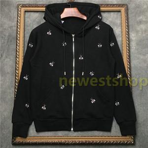 Hotselling 2020 mens vestuário tag moda outono Hoodies bordados abelha impressão moletom mulheres designer jumpers hoodies casuais