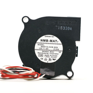 per NMB-MAT BM5115-04W-B59 T5D Server Square Fan DC 12V 0.24A 50x50x15mm 3 fili