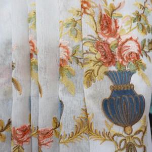 Chevron costura bordada cortina que vivem cortinas opacas quarto quarto