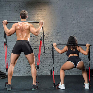 силовые тренировки йог резинка похудение тянуть приземистое сопротивление артефакта группы Пилатес палочке loseweight Тренажеров