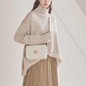 Designer- echtes Leder Einzel-Schulter-Paket Achsel-Beutel-Frauen Concise Small Square Luxus-Handtaschen Frauen Designer