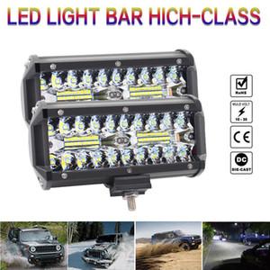 """7"""" 400W LED Arbeits-Licht-Bar Combo Punkt-Lichtstrahl Offroad Nebel Dach Fahren Lampe 12V"""