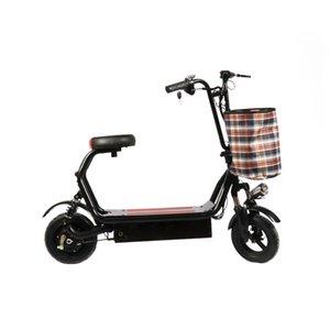 Внедорожный складной гоночный Горный Велосипед10-дюймовый мини-складной бег на длинные дистанции King Parent-Child двухколесный электромобиль может удерживать 48V свинец