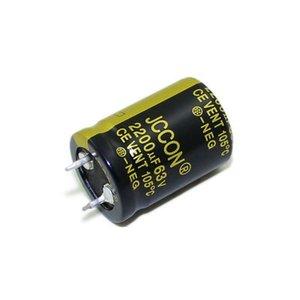JCCON horn aluminum electrolytic capacitor 63v2200uf volume 22x30 Inverter power
